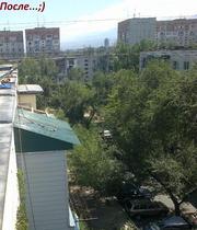 Ремонт крыши балконного козырька в Алматы 3289820