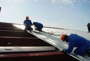Ремонт замена крыши проф-настилом в Алматы