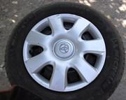 летние шины с дисками R15