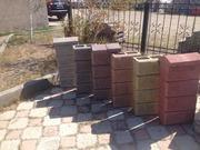 Заборные и стеновые пескоблоки