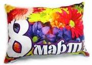 Печать на подушках (подарочные подушки)фото, изображения