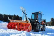 Фрезерно-роторный снегоочиститель Cerruti (Италия) модель Big 620