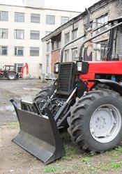 Толкатель трелевочный ТЛЗ-1, 8 на трактор МТЗ-82