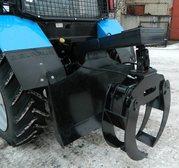 Захват бревен ЗБН-1500 с плитой на МТЗ-82