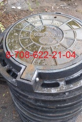 Люки чугунные ГТС с шарниром Тип С ГОСТ 8591-76