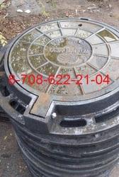 Люки чугунные Казахтелеком с шарниром Тип Т ГОСТ 8591-76